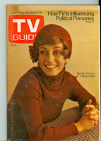 1972 TV Guide May 6 Sandy Duncan Cleveland edition Very Good to Excellent - No Mailing Label  [Lt wear on cover; contents fine]