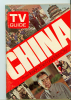 1973 TV Guide Jan 13 China Eastern Illinois edition Near-Mint - No Mailing Label  [Very clean, puzzle worked]