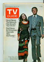 1973 TV Guide Feb 17 McMillan and Wife Eastern Illinois edition Very Good - No Mailing Label  [Sl wear on cover; contents fine]