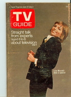 1970 TV Guide June 27 Liza Minnelli Eastern Washington edition Very Good - No Mailing Label  [Heavy wear on cover; contents fine]