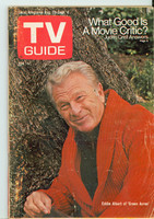 1970 TV Guide August 29 Green Acres Central Indiana edition Very Good to Excellent - No Mailing Label  [Wear on cover, creasing; contents fine]