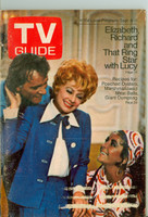 1970 TV Guide Sep 5 Lucille Ball with Elizabeth Taylor and Richard Burton Wisconsin edition Very Good  [Loose at the staples, wear and scuffing on cover; label removed]