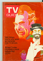 1970 TV Guide Oct 3 Red Skelton St. Louis edition Very Good to Excellent - No Mailing Label  [Sl creasing on cover, ow very clean]