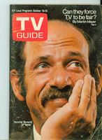 1970 TV Guide Oct 10 Arnie Montana edition Very Good to Excellent - No Mailing Label  [Wear and creasing on both covers; contents fine]