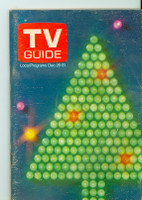 1971 TV Guide December 25 Christmas Oregon State edition Very Good - No Mailing Label  [Wear and creasing on cover; contents fine]