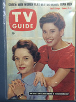 1960 TV Guide Jan 9 Father Knows Best Philadelphia edition Excellent - No Mailing Label  [Lt toning on cover, ow clean]