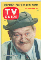 1960 TV Guide Jan 16 Charley Weaver Philadelphia edition Near-Mint - No Mailing Label  [Very lt wear, overall very clean]