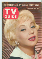 1960 TV Guide Apr 16 Ann Southern Kansas City edition Very Good to Excellent - No Mailing Label  [Lt wear on cover, contents fine]