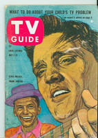 1960 TV Guide May 7 Elvis and Frank Sinatra Pittsburgh edition Very Good to Excellent - No Mailing Label  [Lt wear on cover, contents fine]