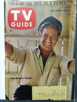 1960 TV Guide Jun 4 Darren McGavin of Riverboat Pittsburgh edition Excellent  [Lt wear on cover, very clean]
