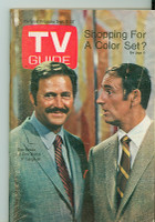 1968 TV Guide Sep 21 Rowan and Martin (First Cover) Chicago edition Very Good to Excellent - No Mailing Label  [Lt wear, scuffing and creasing on cover, contents fine]