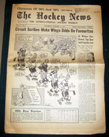 The Hockey News October 14, 1950 Excellent to Mint