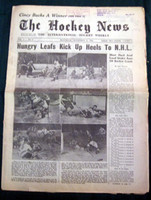 The Hockey News November 11, 1950 Very Good to Excellent