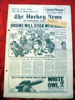 The Hockey News October 28, 1961 Excellent to Mint