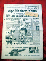 The Hockey News November 11, 1961 Excellent to Mint