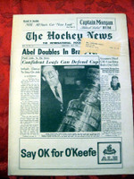 The Hockey News May 1962 Excellent to Mint