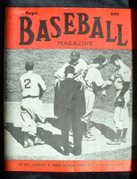 Baseball Magazine September 1939 Dodgers on the Mound