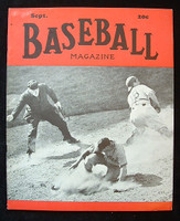 Baseball Magazine September 1940 Harry Danning