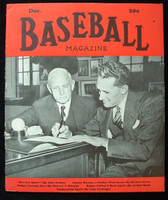 Baseball Magazine December 1942 Cal Griffith