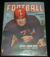 1946 Street and Smith College FB Yearbook Excellent