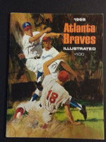 1968 Braves Yearbook Excellent to Mint
