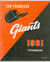 1961 Giants Yearbook Excellent to Mint