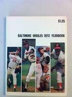 1972 Orioles Yearbook Excellent to Mint