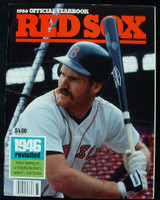 1986 Red Sox Yearbook  Near-Mint