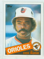 1985 Topps Baseball 700 Eddie Murray Baltimore Orioles Near-Mint to Mint