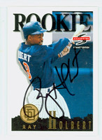 Ray Holbert AUTOGRAPH 1995 Score SUMMIT EDITION Padres 