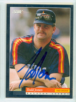 Todd Jones AUTOGRAPH 1994 Score Astros 