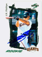 J.R. Phillips AUTOGRAPH 1995 Score Giants 