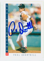 Paul Quantrill AUTOGRAPH 1993 Score Red Sox 