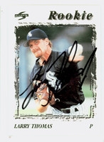Larry Thomas AUTOGRAPH 1995 Score White Sox 