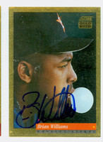 Brian Williams AUTOGRAPH 1994 Score Gold Rush Astros 