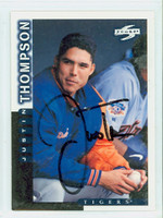 Justin Thompson AUTOGRAPH 1998 Score Tigers 