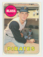 1969 OPC Baseball 104 Steve Blass Pittsburgh Pirates Excellent to Mint