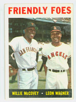 1964 Topps Baseball 41 Friendly Foes Poor