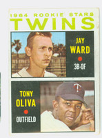 1964 Topps Baseball 116 Twins Rookies Fair to Poor