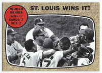 1968 Topps Baseball 157 World Series 7 Excellent to Mint