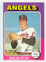 1975 Topps Baseball 500 Nolan Ryan California Angels Very Good to Excellent