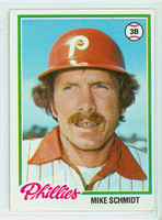 1978 Topps Baseball 360 Mike Schmidt Philadelphia Phillies Very Good