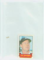 1969 Topps Stamps 3 s Al Kaline Detroit Tigers Near-Mint to Mint