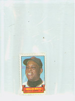 1969 Topps Stamps 4 s Willie Mays San Francisco Giants Near-Mint to Mint