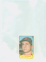 1969 Topps Stamps 5 s Carl Yastrzemski Boston Red Sox Near-Mint to Mint