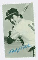 1974 Topps Deckle 11 Bobby Valentine California Angels Good to Very Good