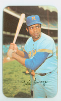 1971 Topps Baseball Supers 3 Ted Savage Milwaukee Brewers Excellent