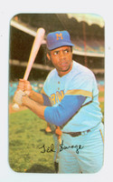 1971 Topps Baseball Supers 3 Ted Savage Milwaukee Brewers Excellent to Mint