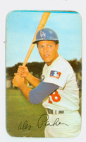 1971 Topps Baseball Supers 14 Wes Parker Los Angeles Dodgers Good to Very Good