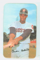 1971 Topps Baseball Supers 15 Cesar Cedeno Houston Astros Very Good to Excellent